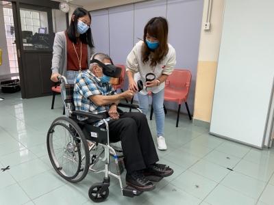 紅十字會虛擬實境遊戲